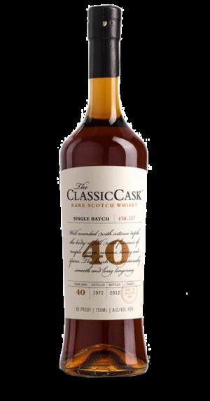 Classic Cask 40 Year Rare Scotch Whisky