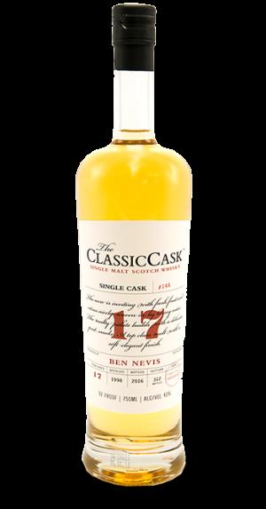 Classic Cask Ben Nevis 17 Years