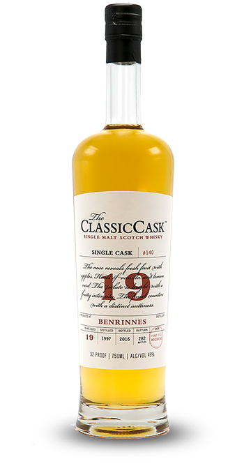Classic Cask Benrinnes 19 Years