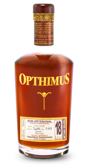 Opthimus 18 Year Old Aged Rum