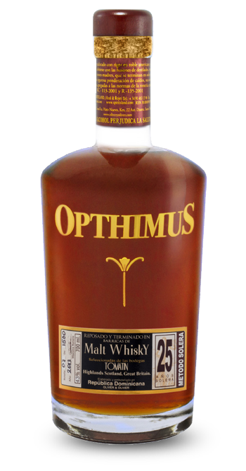 Opthimus 25 Years Old Aged Malt Whiskey