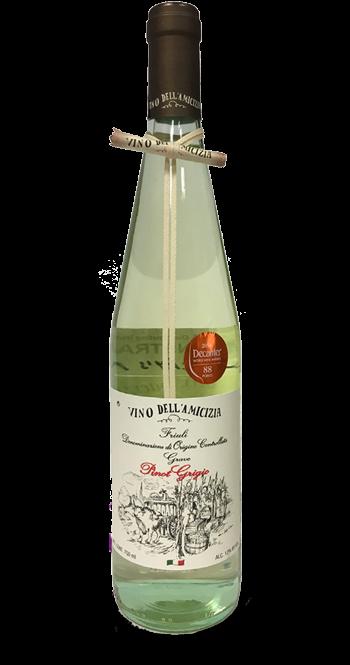 Vino Dell'Amicizia Friuli Pinot Grigio